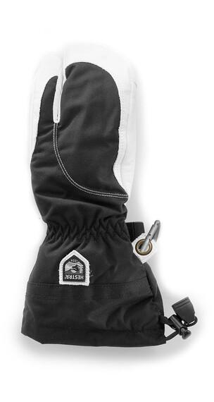Hestra Heli Ski Female 3-Finger Black/Off White (100020)